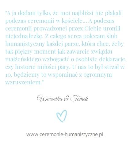 opinia Weronika i Tomek